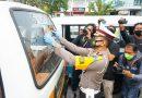 Polda Kaltim Gencar Sosialisasikan Protokol Kesehatan Pada Ops Zebra Mahakam 2020